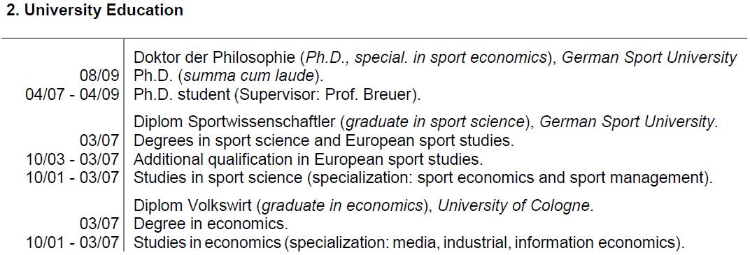 2 University Education